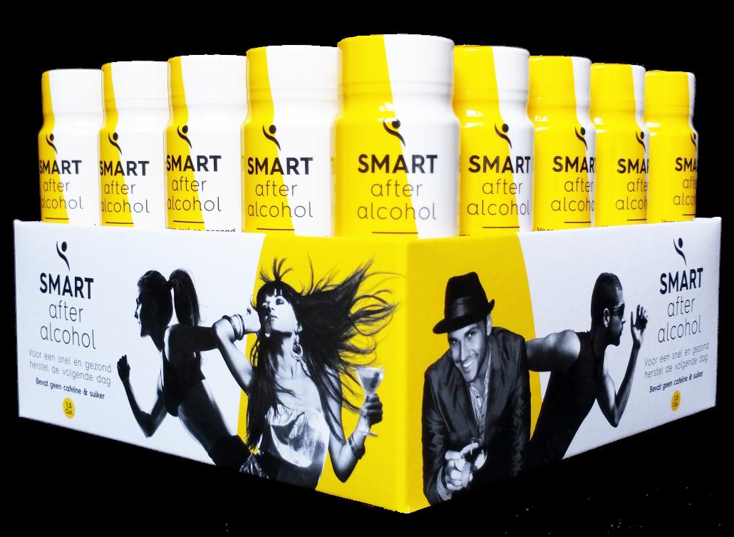 SMART Recovery Drink - Doos met flesjes